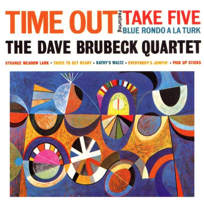 Image result for dave brubeck time out album cover high resolution