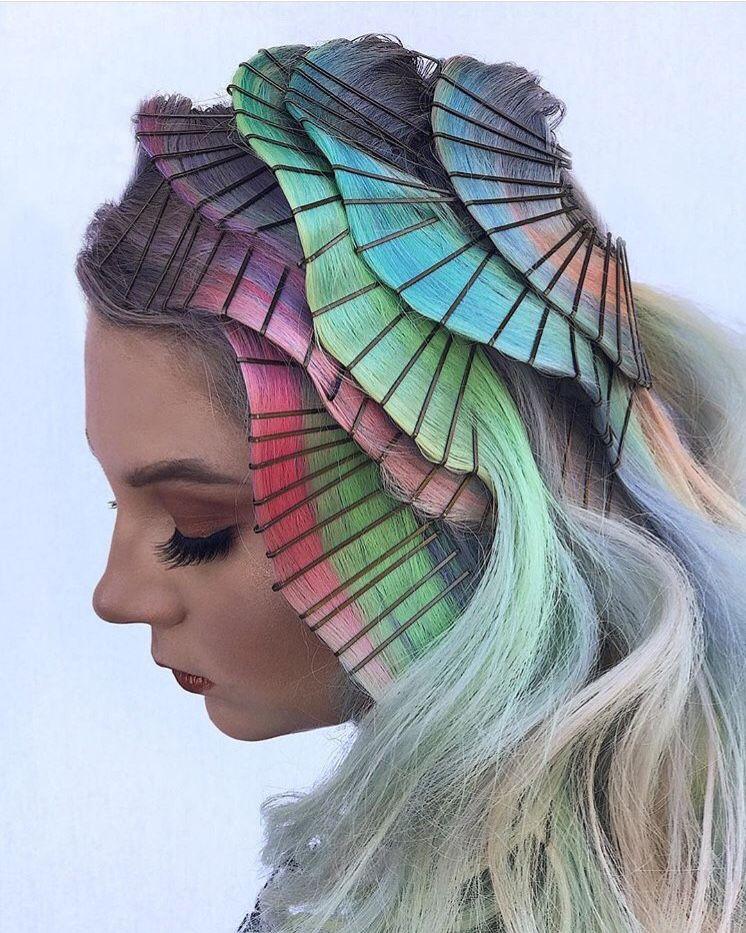 Creative Hair おしゃれまとめの人気アイデア Pinterest Hair Manorika ヘアーデザイン ヘアスタイル