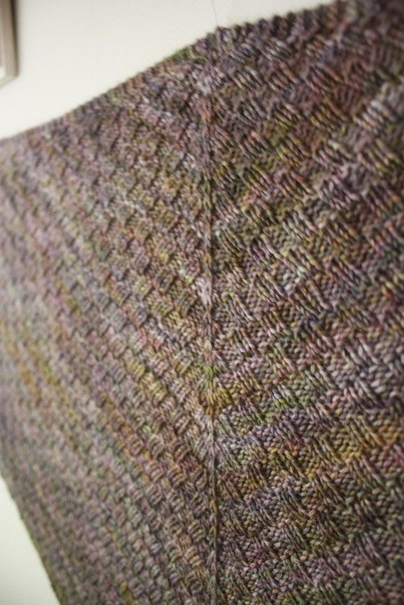 Knitting Pattern / Cheques Checkered Rib от phydeauxdesigns