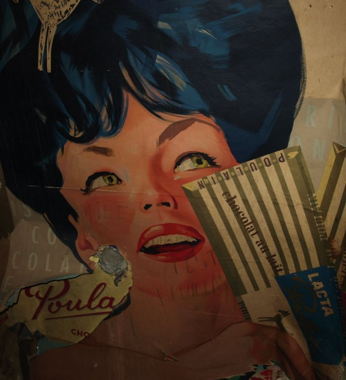 ©Vincent Brun Hannay Station Sablon affiches anciennes