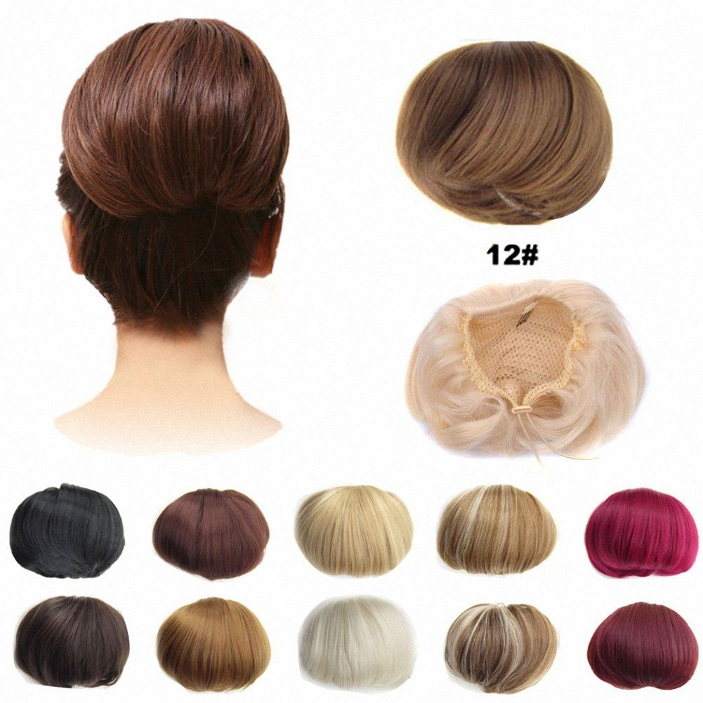 feshfen bridal hair bun updo scrunchy scrunchie hairpiece