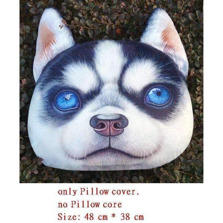 Realistic 3d Dog Pillow Cover Pinterest 3d Dog Pillows And Products