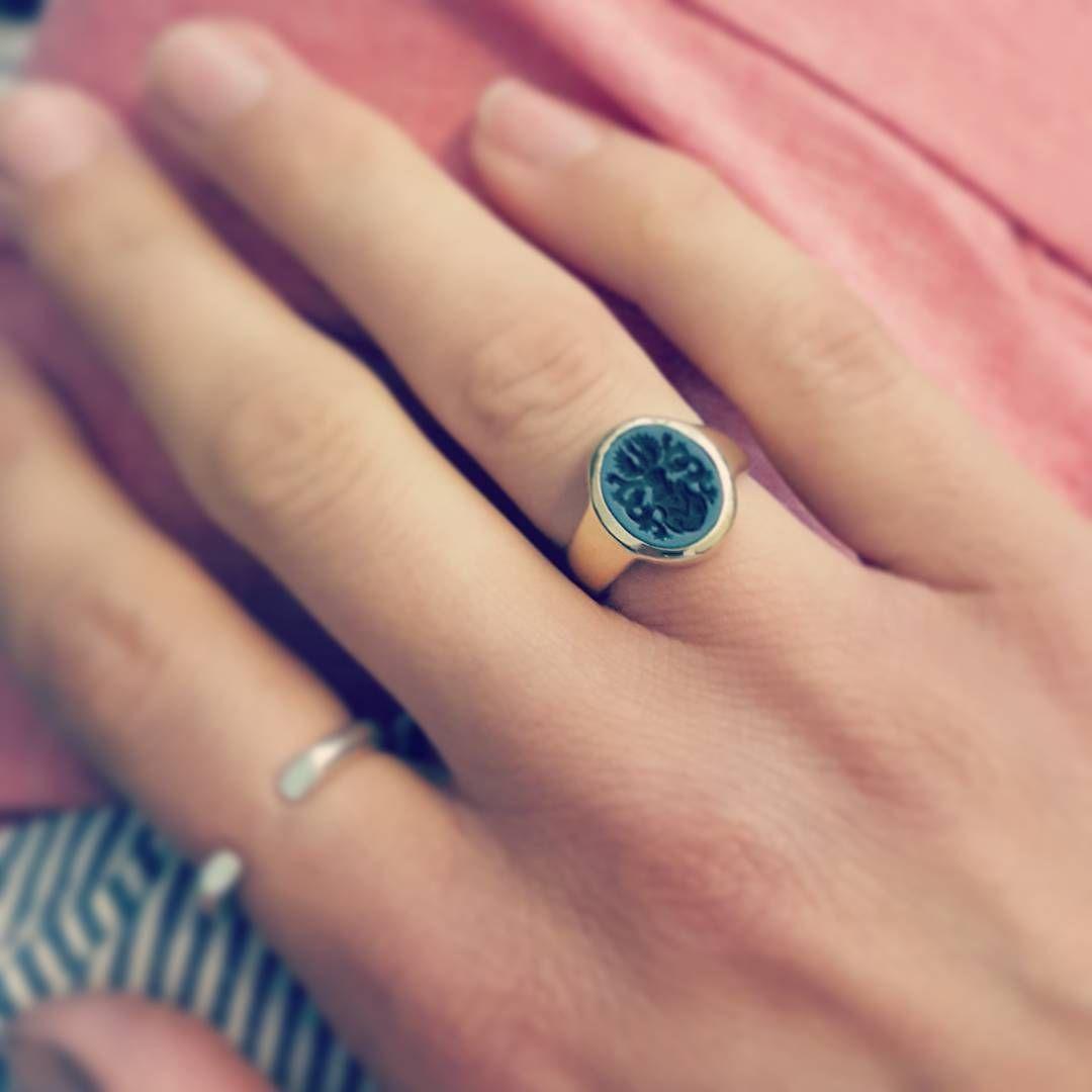 Edle Indische Ringe Handgefertigt Onyx 925 Sterling Silber