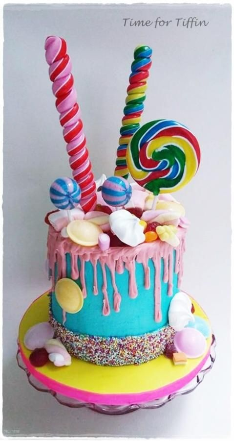 Sweetie Cake By Time For Tiffin Cakes Cake Decorating Daily