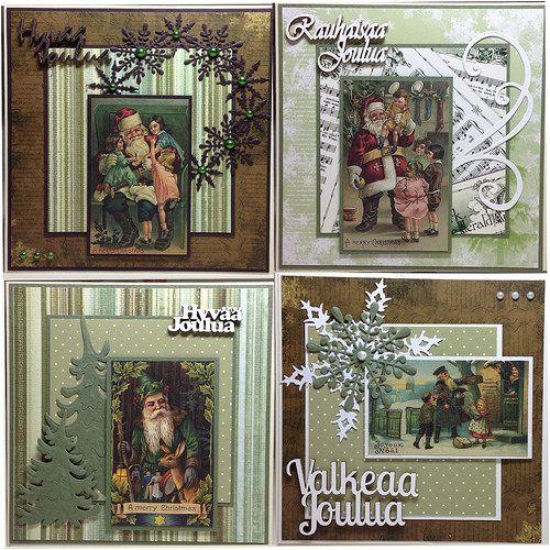Huhtikuun joulukortit