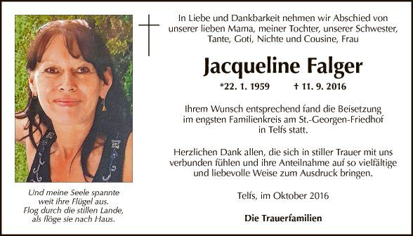 Jacqueline Falger