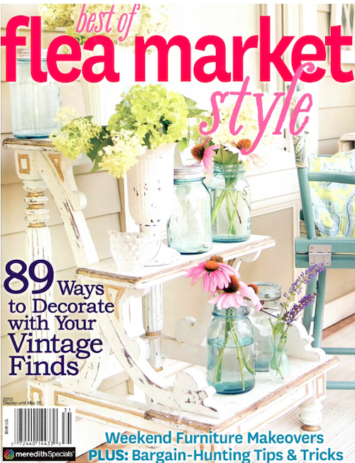 Better Homes And Gardens Magazines Shabby Style Flea Market