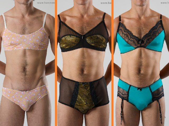 this is an ad for male lingerie from the vision of tom neuwirth aka  conchita wurst. a gay male who is a drag queen. this is amazing 5506279a96
