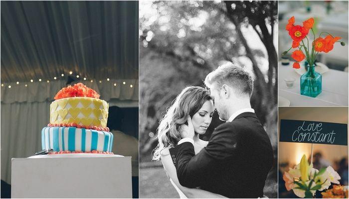 Peach and Turquoise Wedding {Real Bride} | Confetti Daydreams - Real Wedding inspiration with colourful ideas and DIY projects ♥ #Peach #Turquoise #Wedding #DIY ♥  ♥  ♥ LIKE US ON FB: www.facebook.com/confettidaydreams  ♥  ♥  ♥