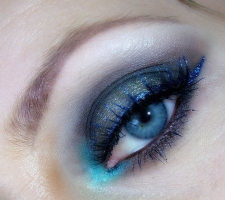 Chocolate smokey eye - #eyemakeup #eyeshadow #eyes #makeup #shadow #milady #blueshadow - bellashoot.com