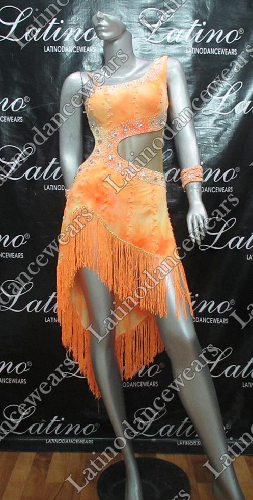 LATIN SALSA COMPETITION DRESS LDW (LT829) LATIN-SALSA-COMPETITION-DRESS-LDW-LT829 Latino Dancewears