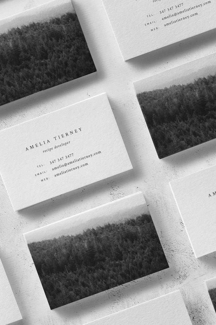 Amelia Business Card Template — The Denizen Co.