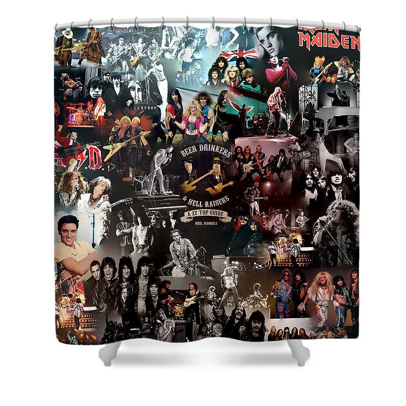 Rock Collage Shower Curtain For Sale By Galeria Trompiz In 2020