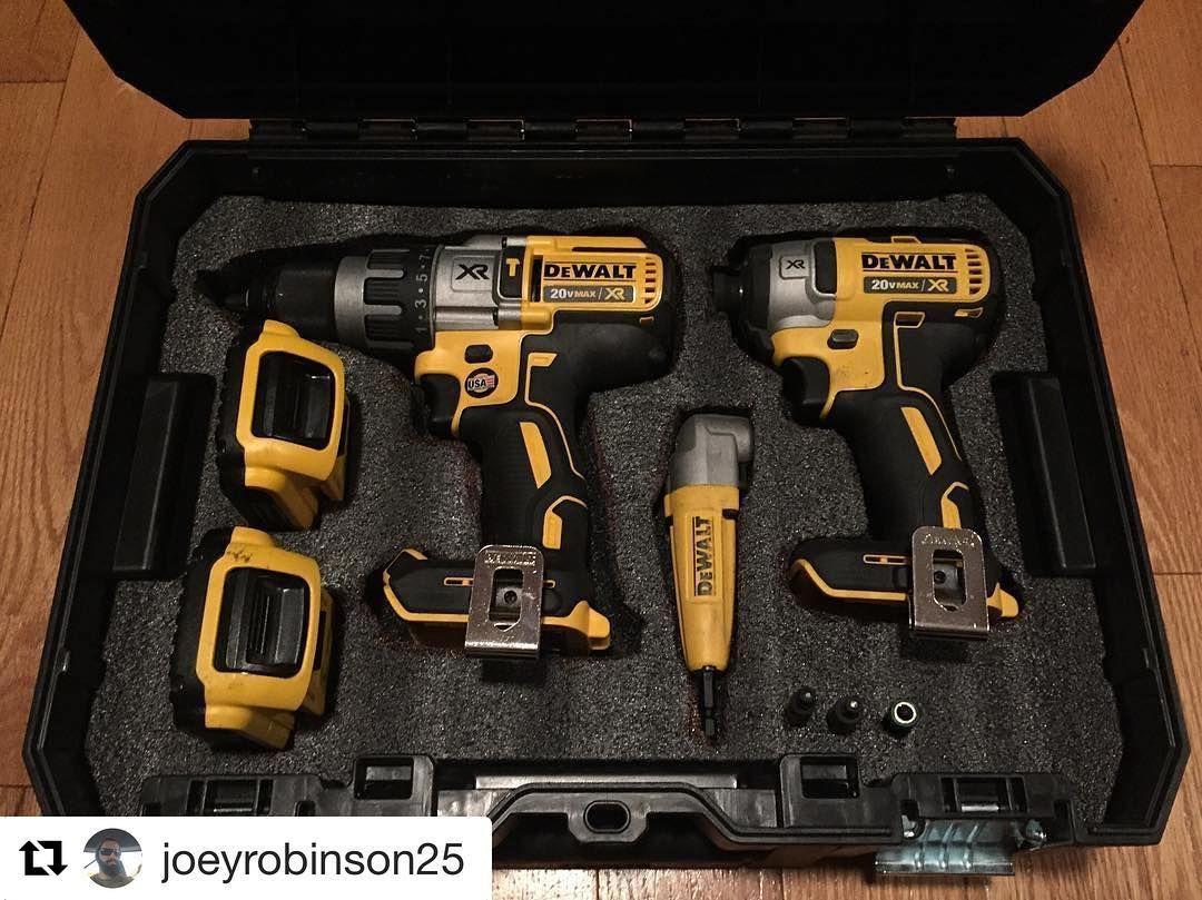 Here Is A Great Looking T Stak Rack Dewalttough Dewalttools Repost Joeyrobinson25 The Dewalt Tstak Toolcase With Th Dewalt Power Tools Dewalt Tools