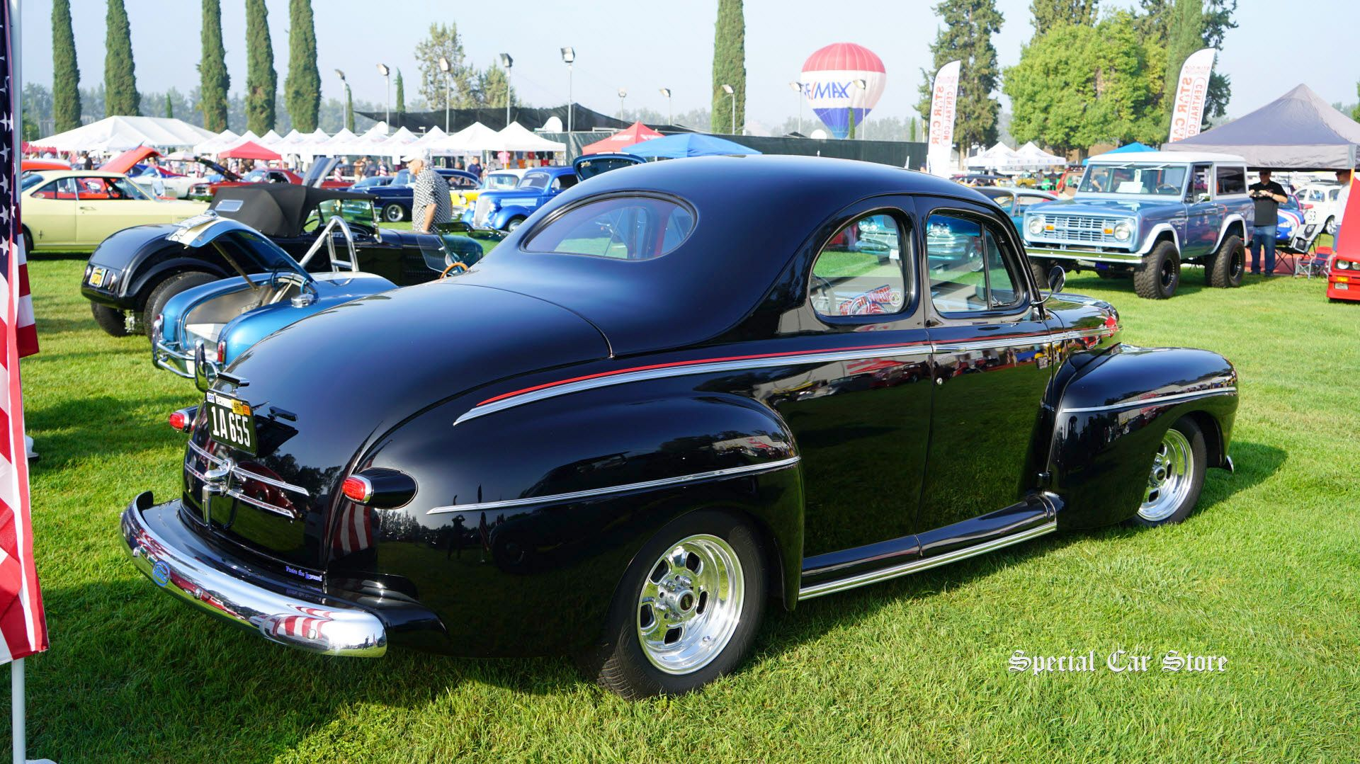 Ford Business Coupe At Steve McQueen Car Show To Benefit - Chino hills car show