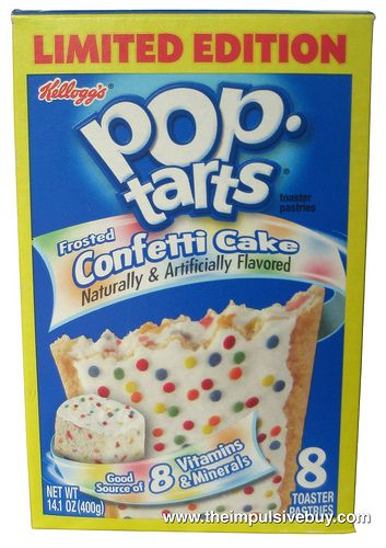 Review Limited Edition Frosted Confetti Cake Pop Tarts Pop