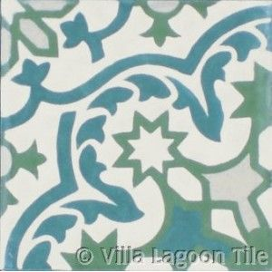 Havana tile from Vilia Lagoon