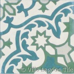 Havana tile from Vilia Lagoon