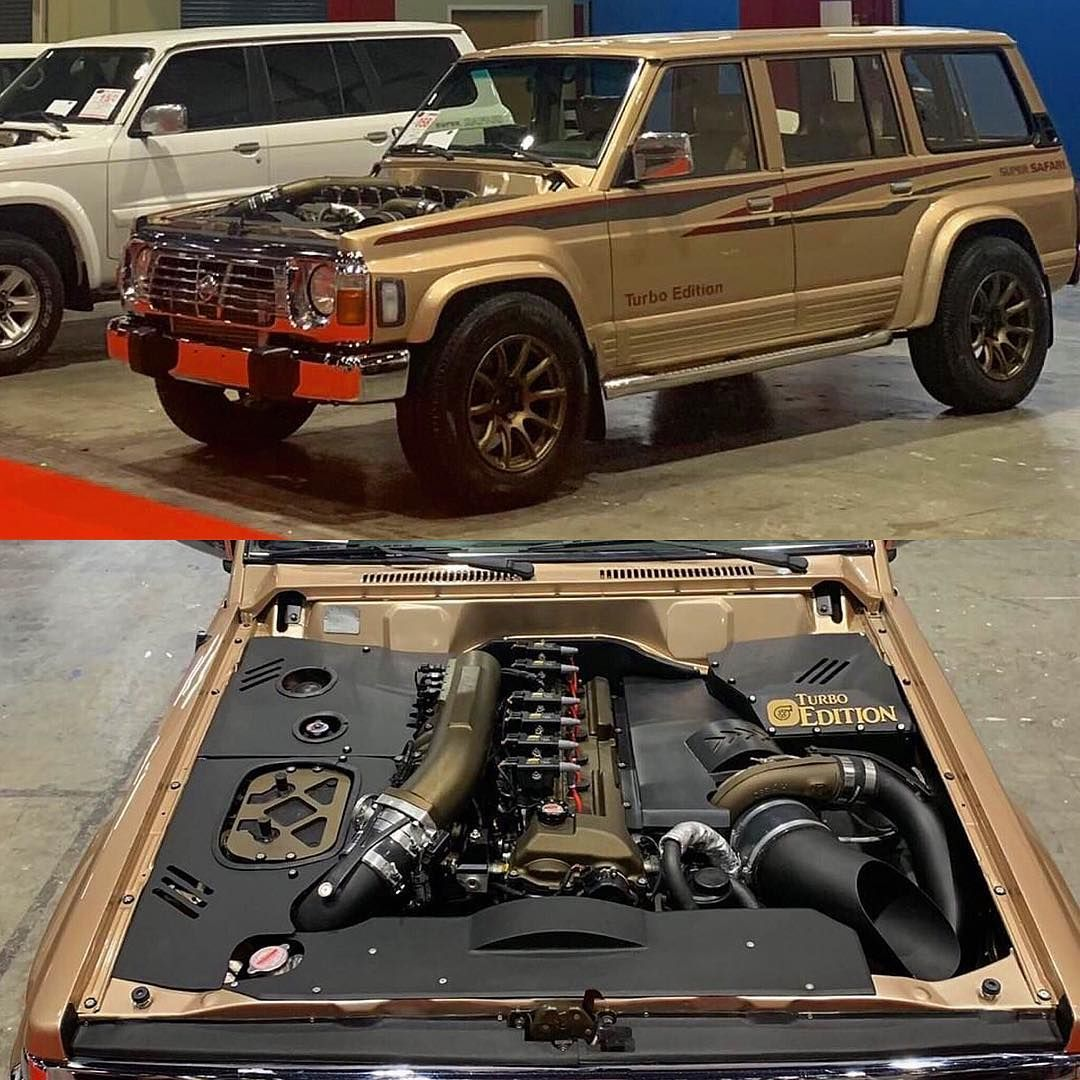 Turbo Tb48 Swapped 97 Nissan Y60 Putting Down 1012 To The Wheels Engineswap Vtc Almuhairi In 2020 Nissan Nissan Patrol Engine Swap