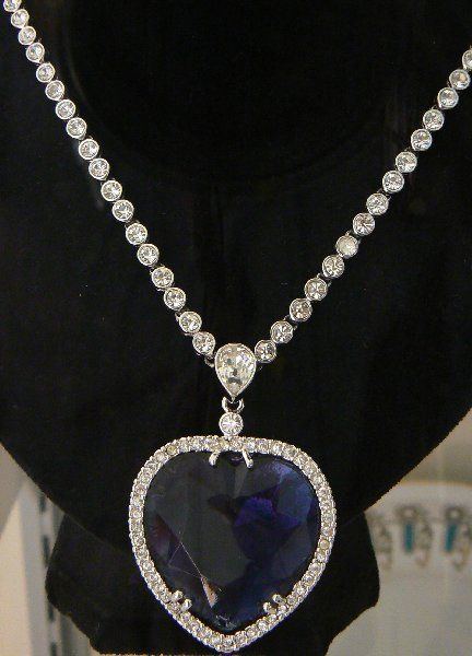 Titanic rose's necklace - I can't say enough how much I love and want this necklace.