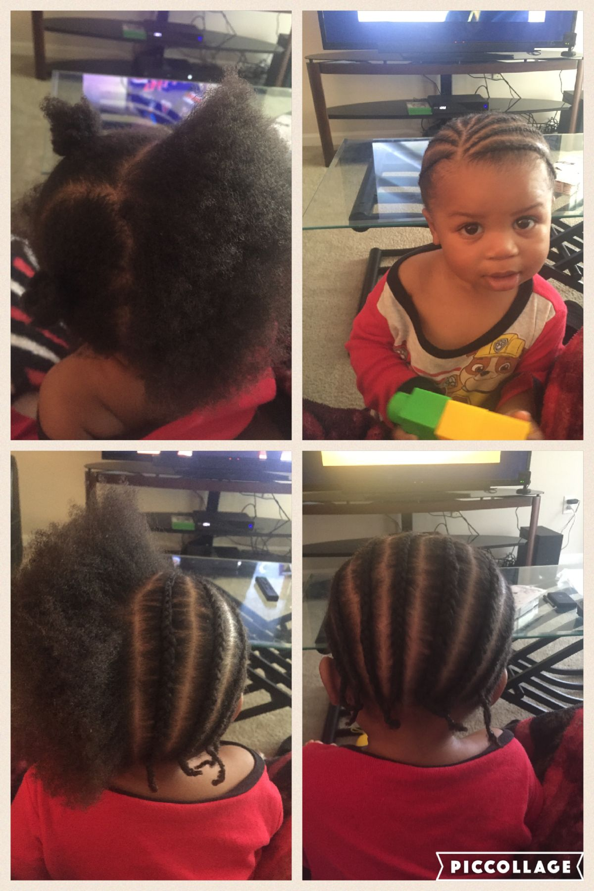 Had To Do A Quick Style For My Son Boy Braids Hairstyles Boy