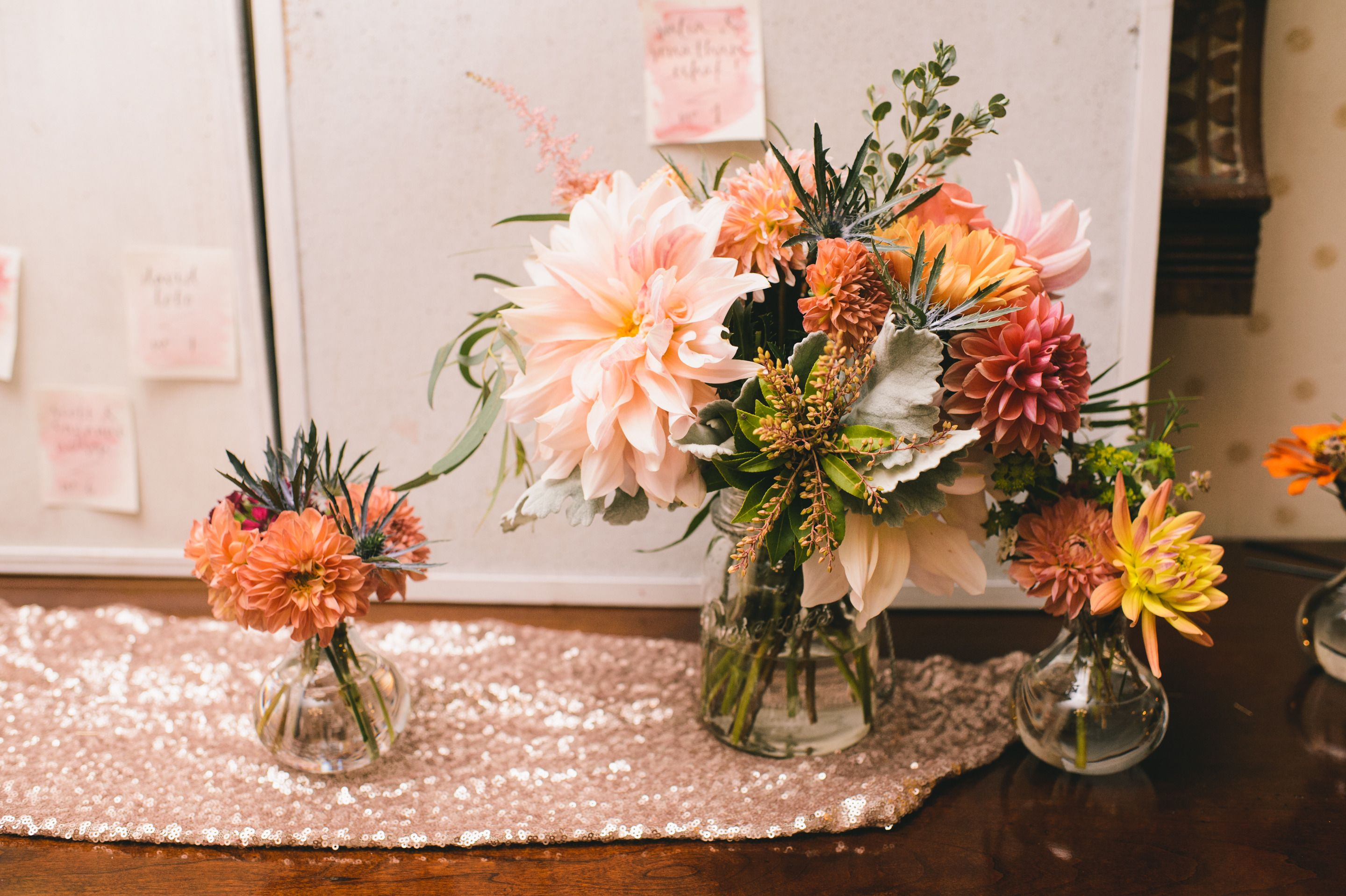 DIY Wedding on Block Island with a Watercolored Gown Diy