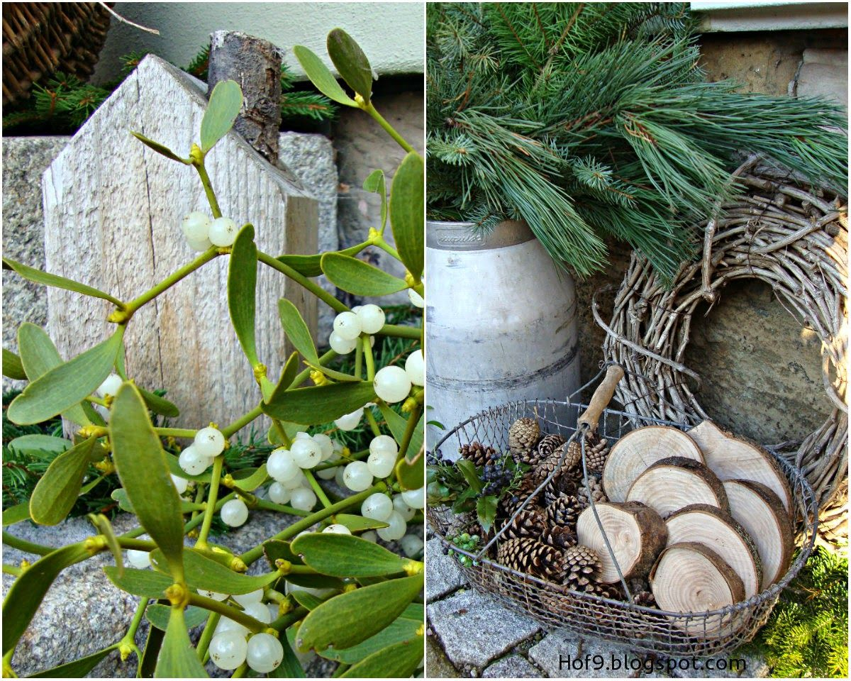 Hereinspaziert au endeko im winter weihnachtsdeko hauseingang weihnachten und hauseingang - Treppenaufgang dekorieren ...