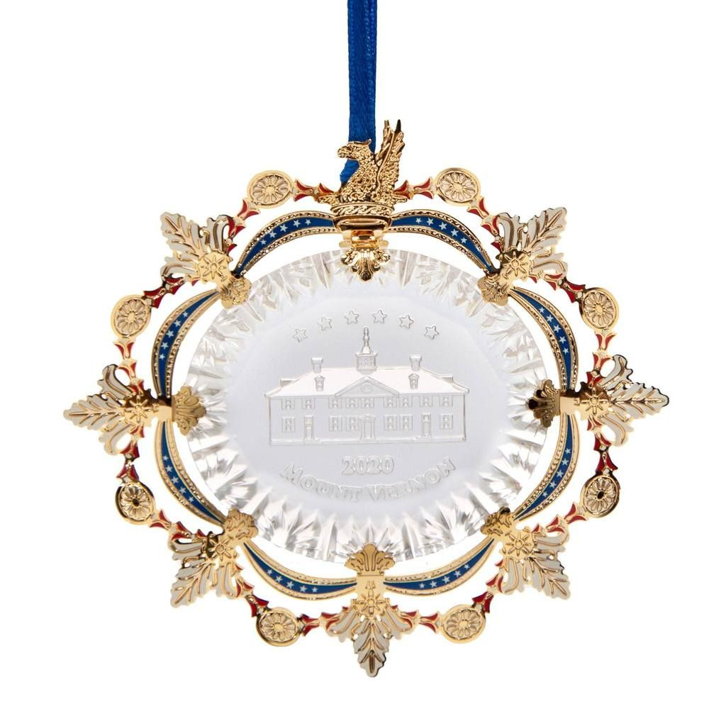 Mount Vernon Christmas Ornament 2020 Mount Vernon 2020 Annual Ornament in 2020 | Gift decorations