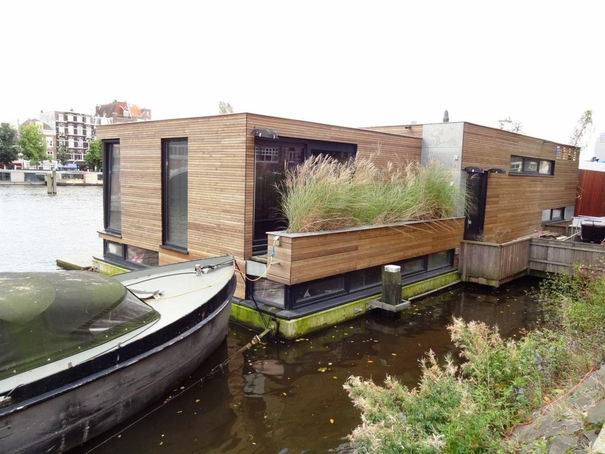 houseboat amsterdam gela 39 s lebens t r ume pinterest hausboote architektur und boote. Black Bedroom Furniture Sets. Home Design Ideas