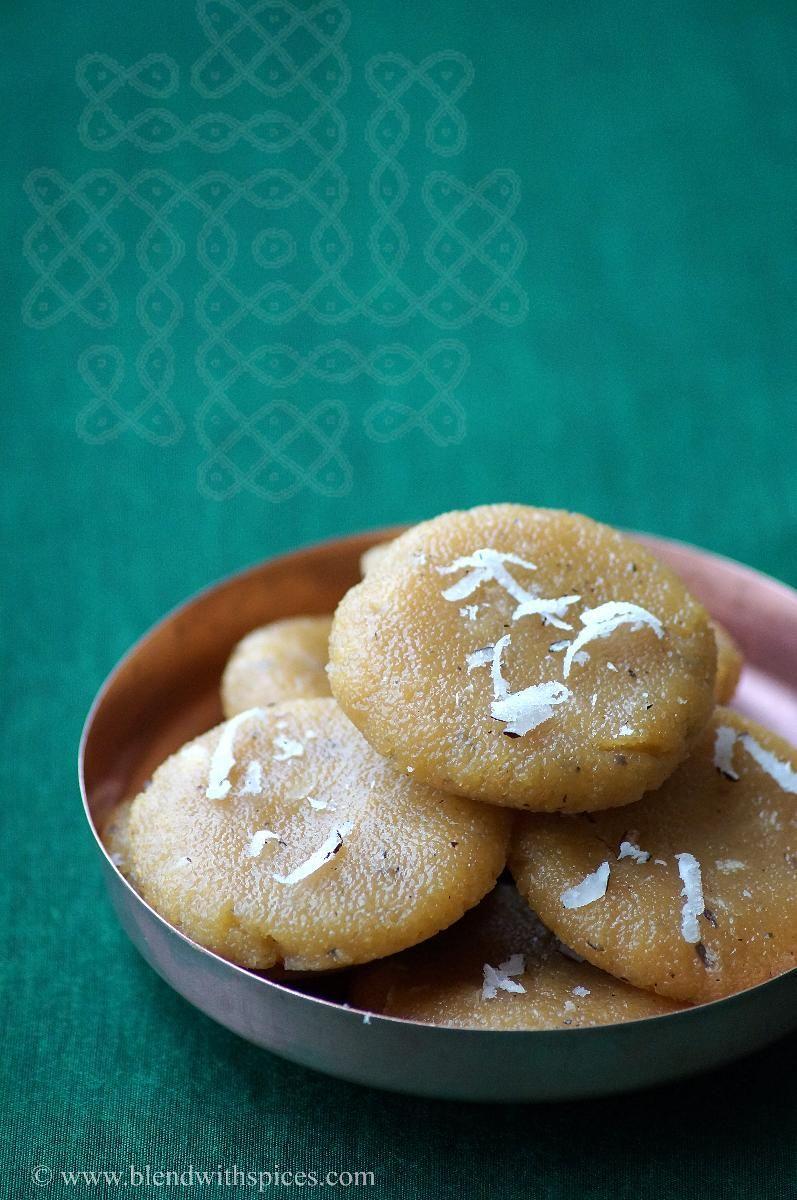 Indian Cuisine: Rava Kudumulu Recipe - Vinayaka Chavithi Recipes
