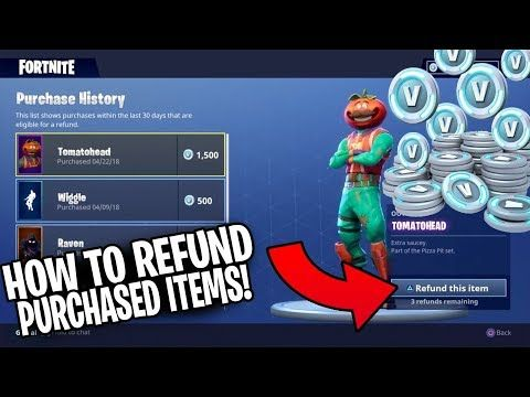 How To Refund In Fortnite Ps4 - Ballersinfo com