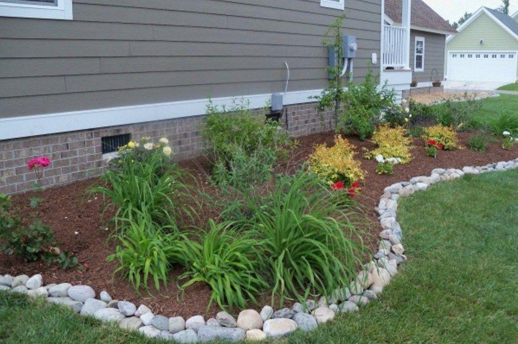 Image Result For Garden Landscape Borders Edging Landscaping With Rocks Garden Edging Rock Garden Landscaping