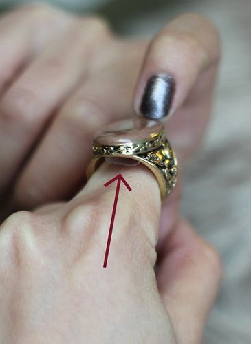 How To Resize Make A Ring Fit Smaller Using Tape Extra Petite Big Rings How To Make Rings Make A Ring Smaller