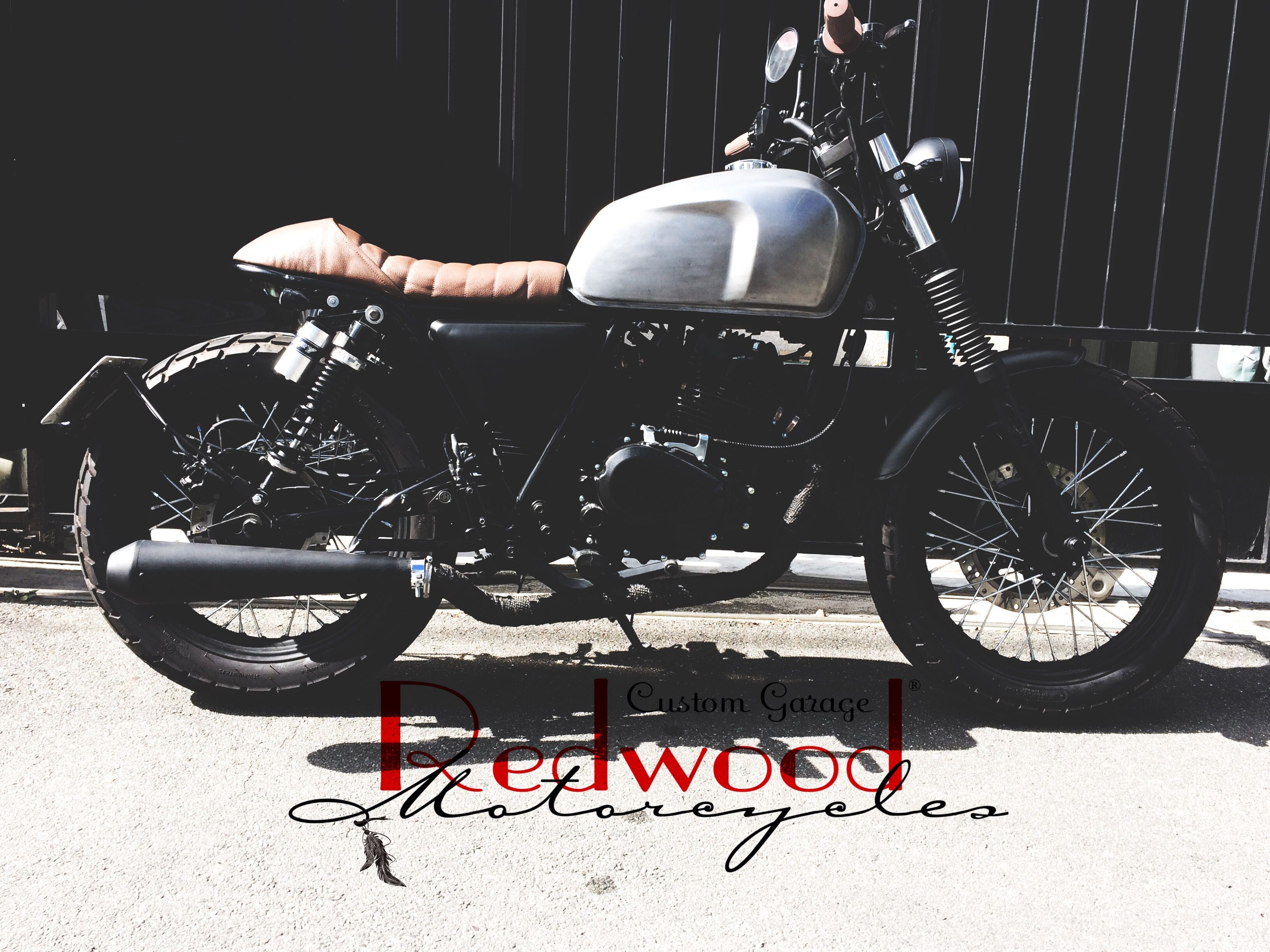 Brixton 125 By Redwood Motorcycles Custom Garage Cafe Racer ,