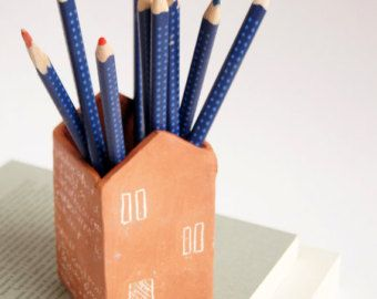 Cute Office Decor Pen Cup Pencil Holder Cute Desk
