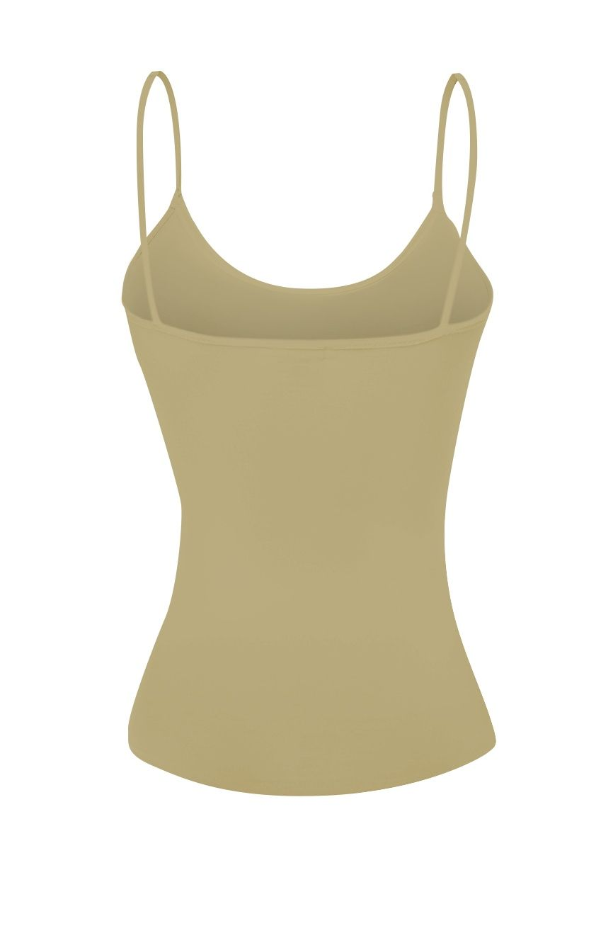 1307083af06e3 Basic Women Camisole Cami Built-In Shelf Bra Adjst Strap Tank Top - Junior  Size