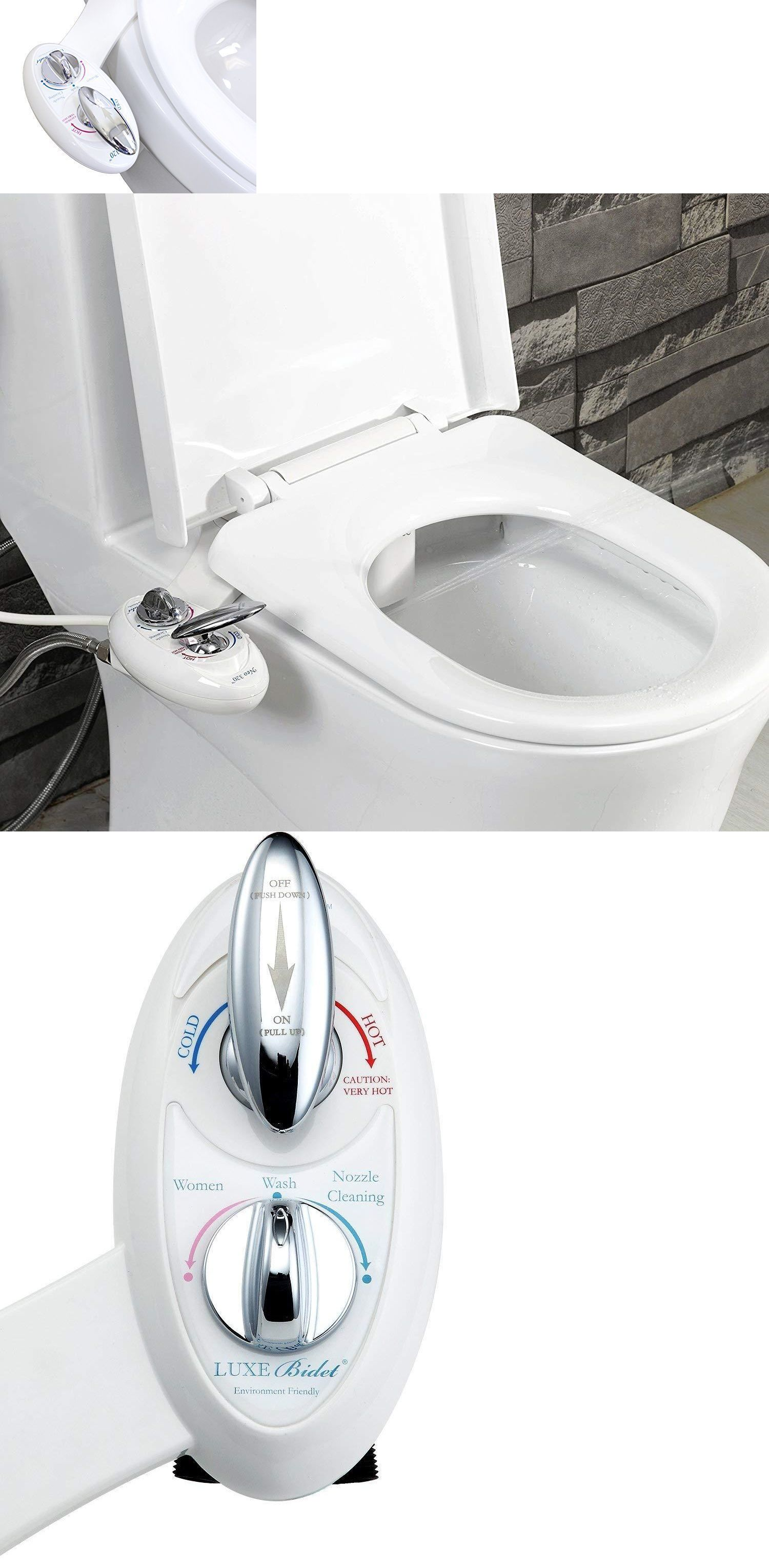 Bidets And Toilet Attachments 101405 Luxe Bidet Neo 180 Self