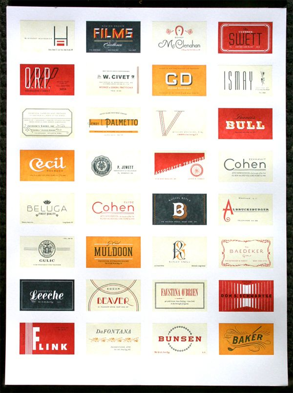 my favorite letterpress poster of all time. I will have it one day ...