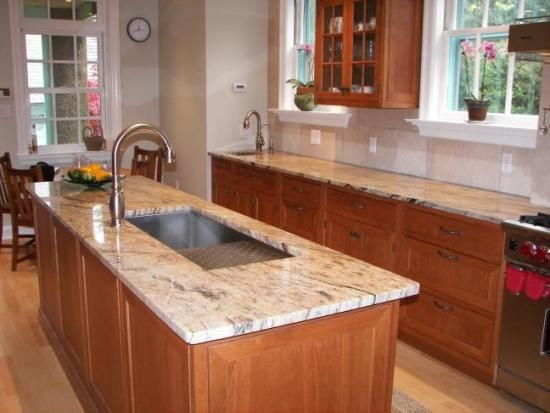 Attractive Decoration, Marble Countertops Kitchen Idea: More Than Just An Ordinary  Marble Kitchen Countertops