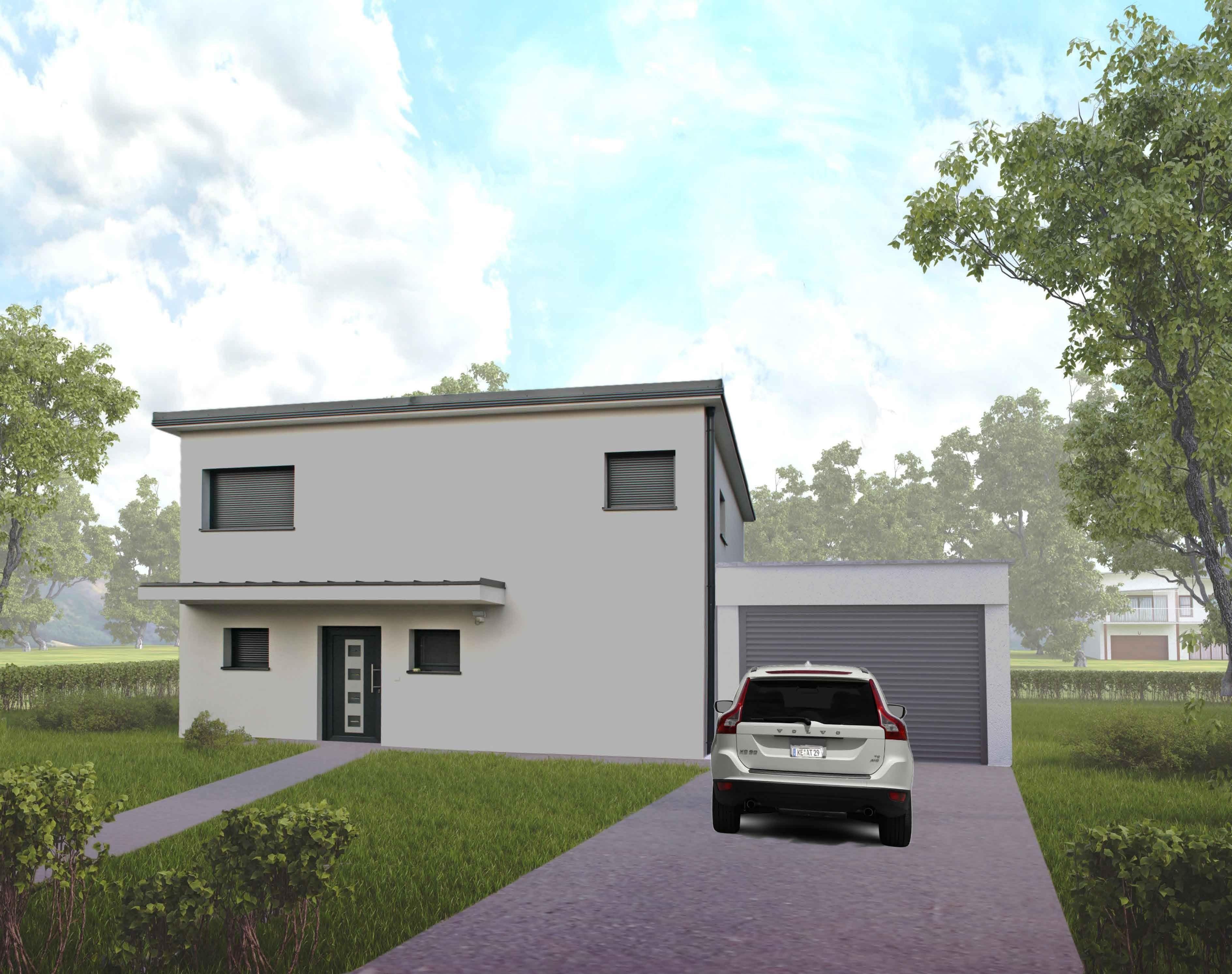Modernes bungalow innenarchitektur wohnzimmer villa bauen in niederufsterreich u das modell exklusiv