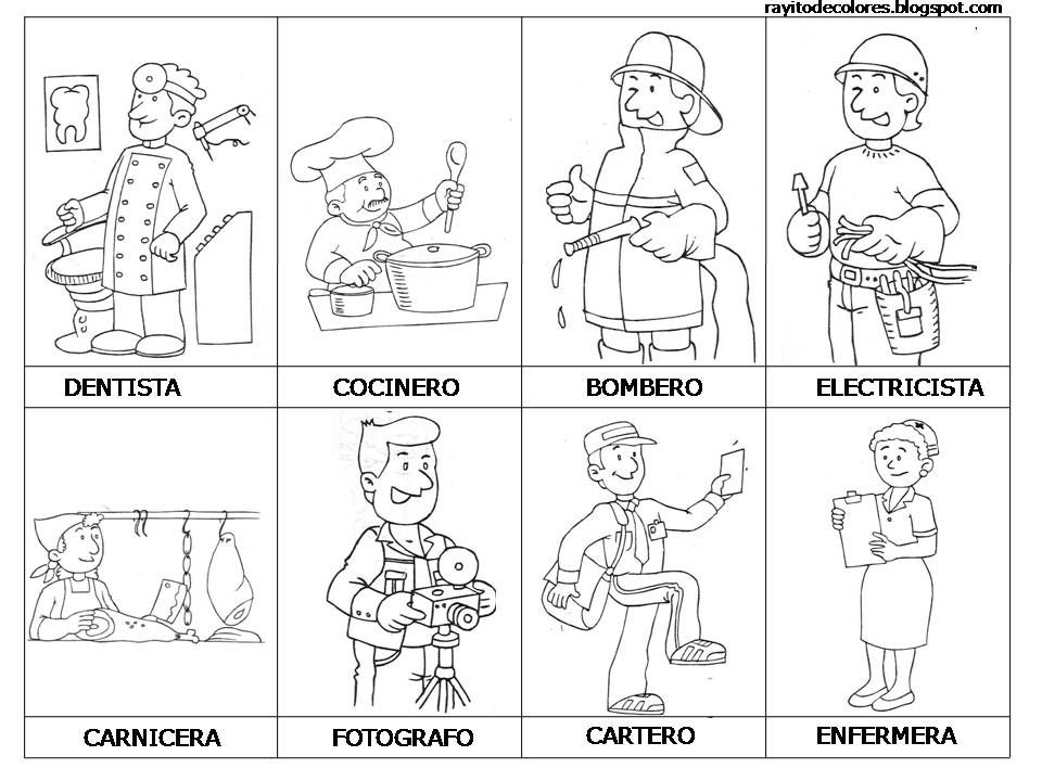 Profesiones Y Oficios K 2 Profesiones Para Niños Profesiones Y