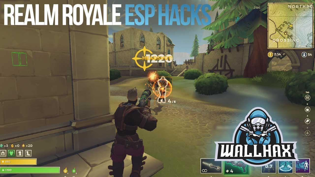 Realm Royale ESP Screenshot | Game Hacks | Hacks, Cheating, Games