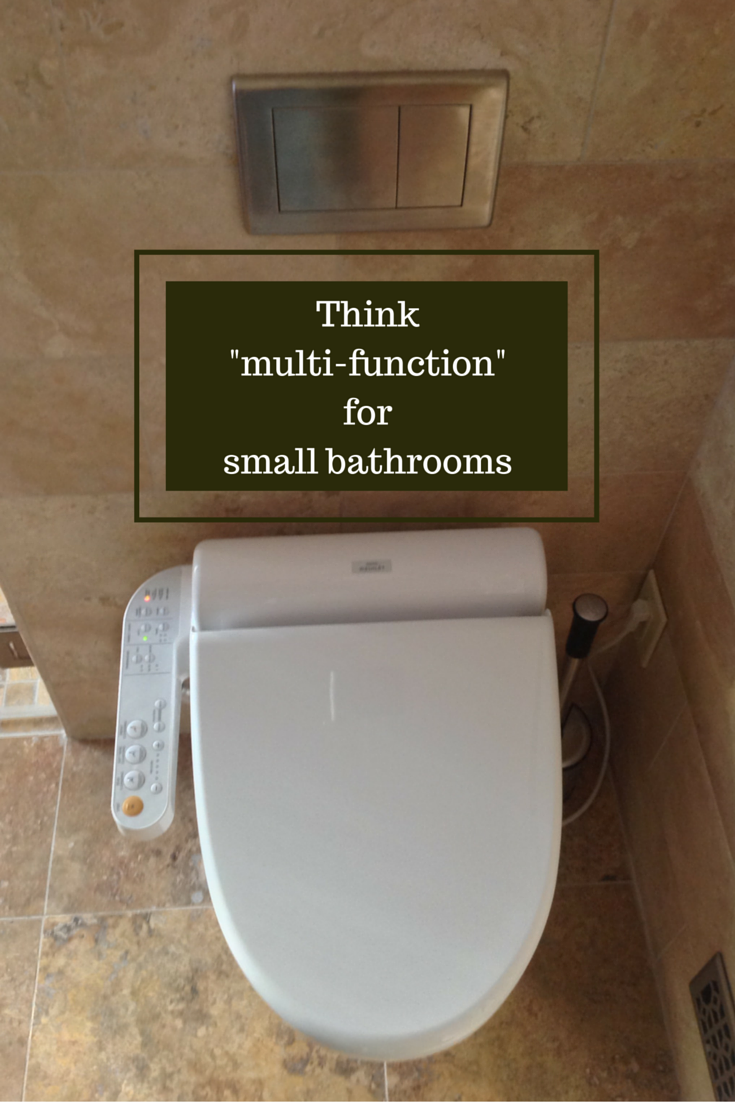 A small bathroom becomes big, bright and beautiful | Bathroom ...