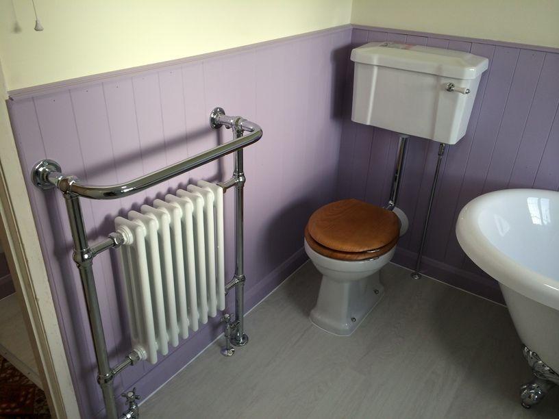 Radiator Voor Toilet : Traditional toilet towel radiator towel radiators by uk
