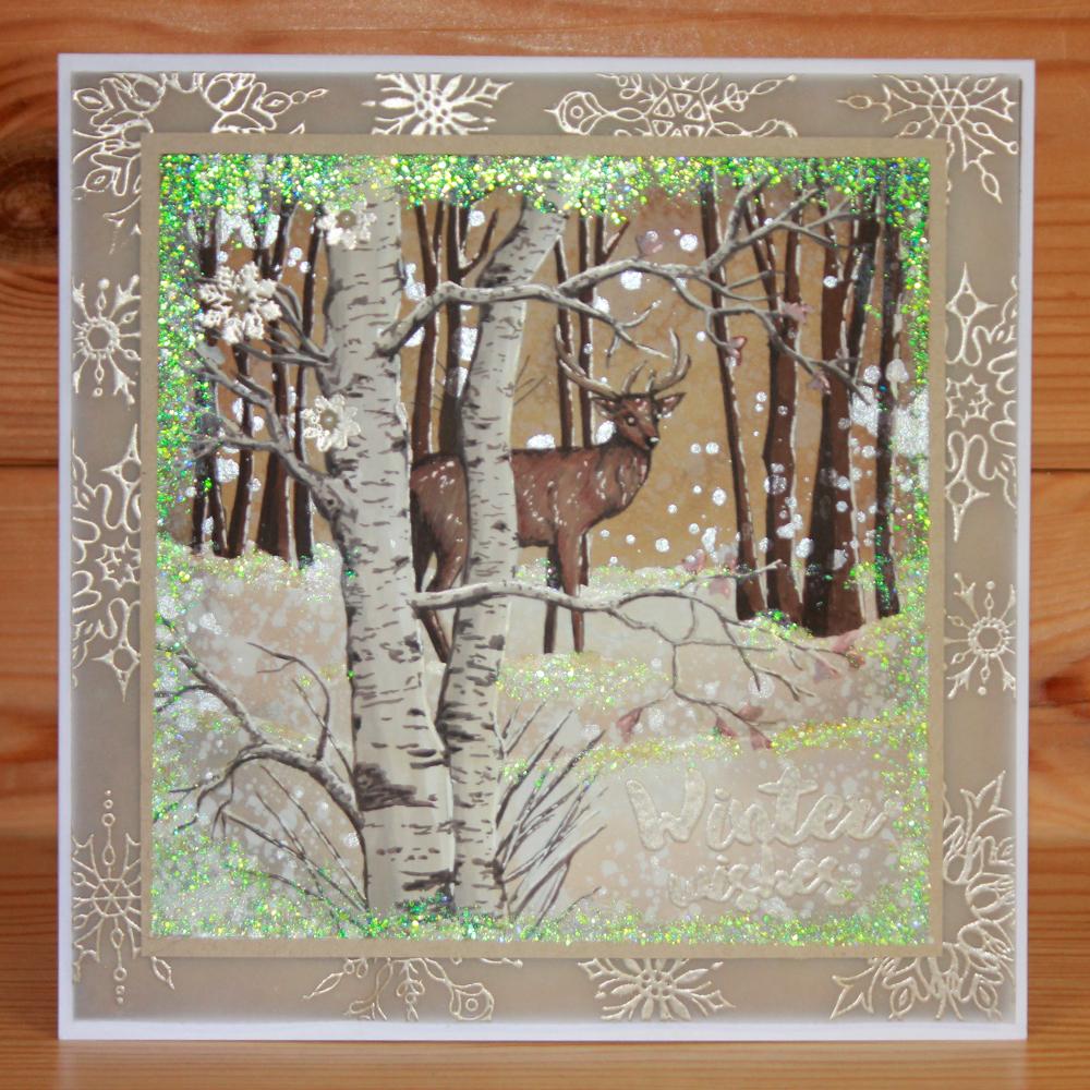 Winter Woodland Sally 4 Hobby Art Winter woodland, Art