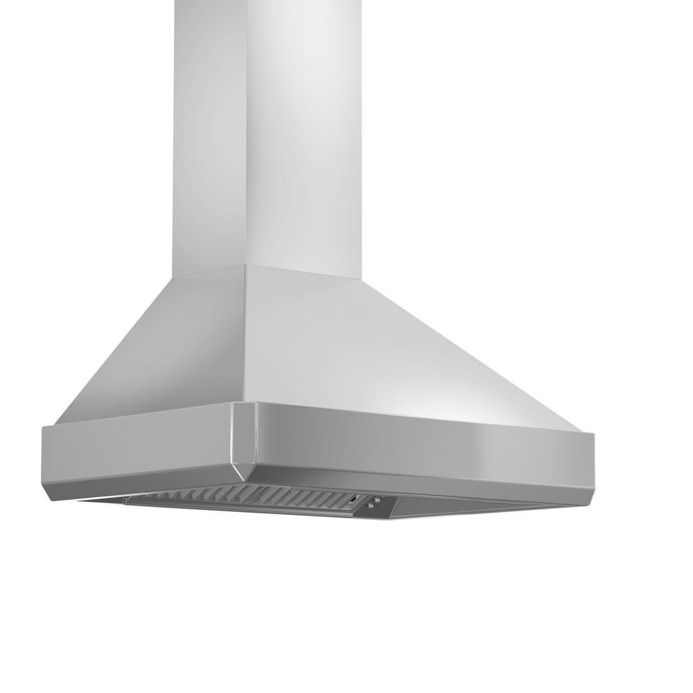 Zline Kitchen And Bath Zline 48 In 1200 Cfm Wall Mount Range Hood In Stainless Steel 476 48 Stainless Steel Range Hood Wall Mount Range Hood Stainless Steel Hood