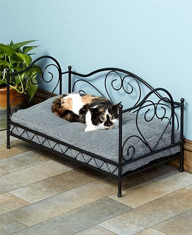 Scrolled Metal Pet Beds Dog Bed Buy Pet Beds Dog Furniture
