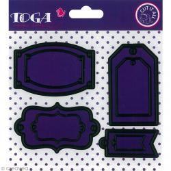Dies Toga - Cut It All - 8 étiquettes
