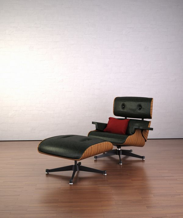 James Eames Loung Chair By Mario Rombach Via Behance Charles