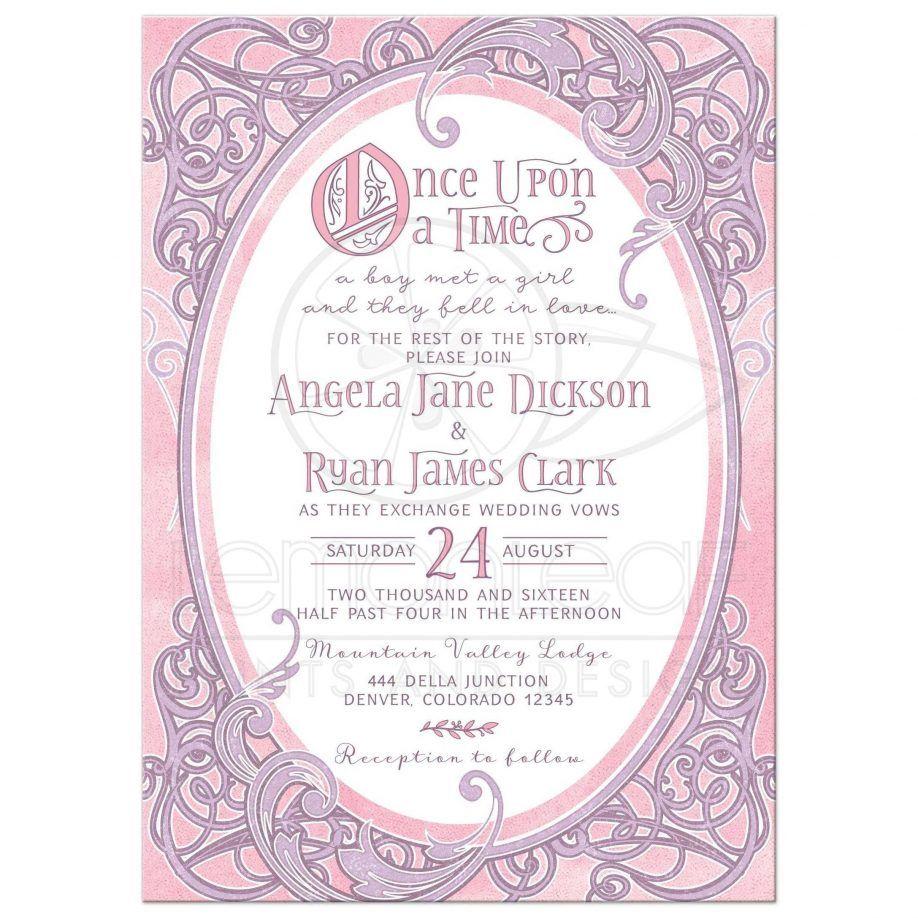 Invitations Card. Fairy Tail Wedding Invitations Wording Fairy Tale ...
